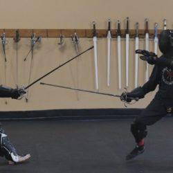 image de duel de rapière d'amhe