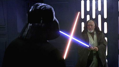 image du film star wars: duel au sabre