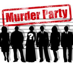"""logo stylisé de """"murder party"""""""
