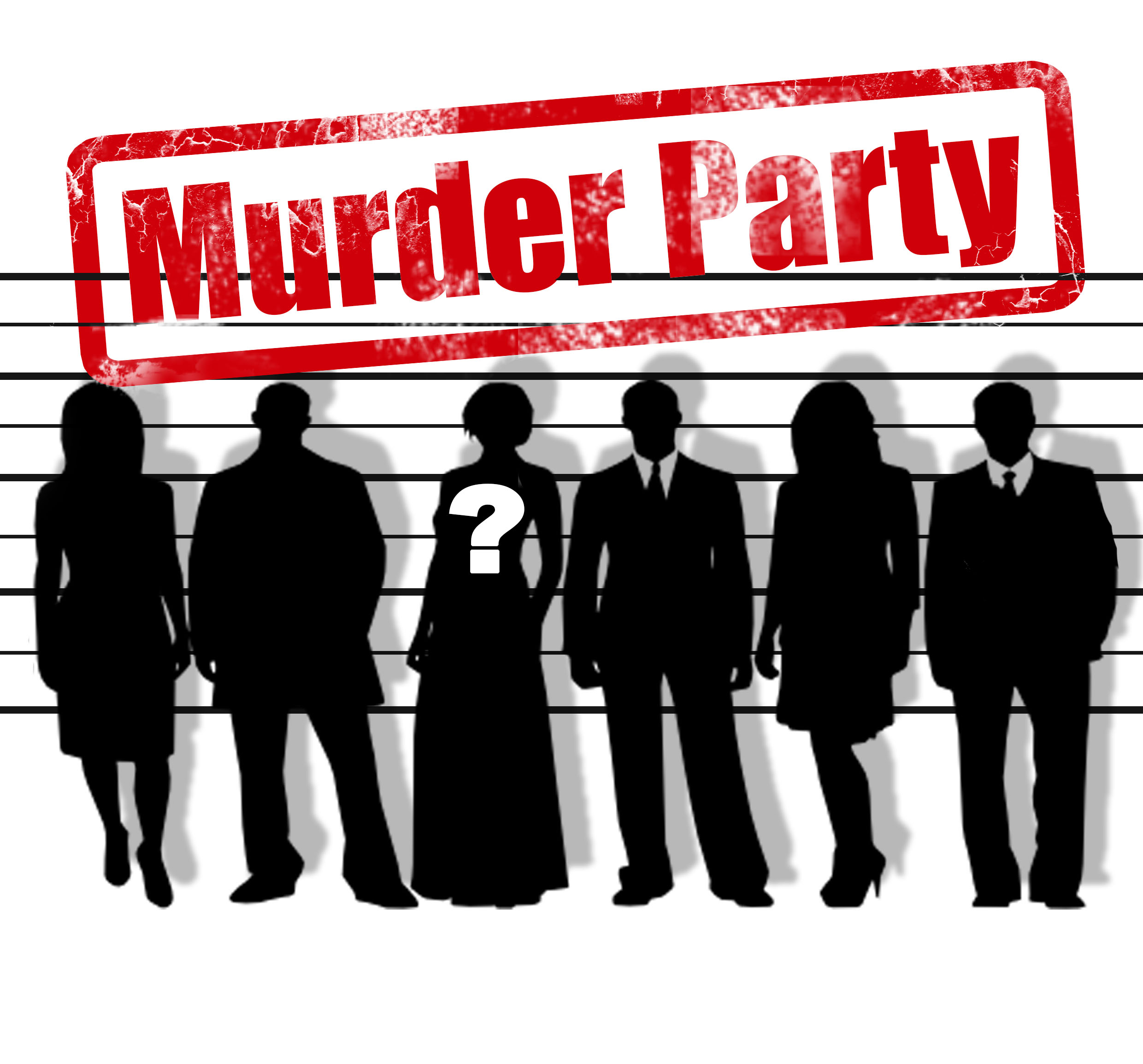 "logo stylisé de ""murder party"""